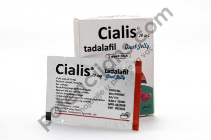 Cialis Oral Jelly 20mg